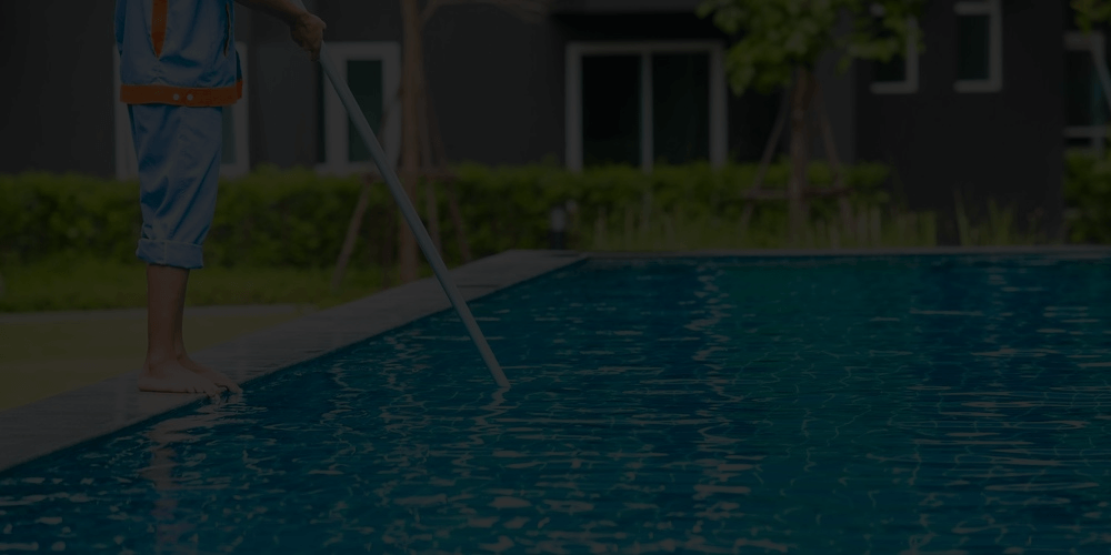 Swimming pool repair works Green Shirts Dubai